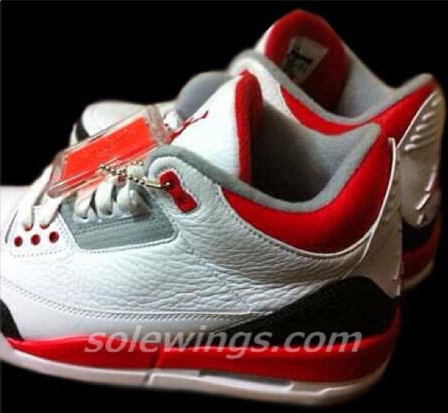 """b01213882065d ... First Look Air Jordan 3 Retro """"Fire Red"""" ..."""