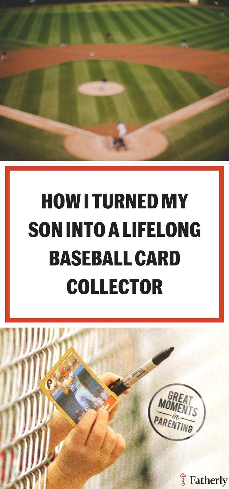 How I Turned My Son Into A Lifelong Baseball Card Collector