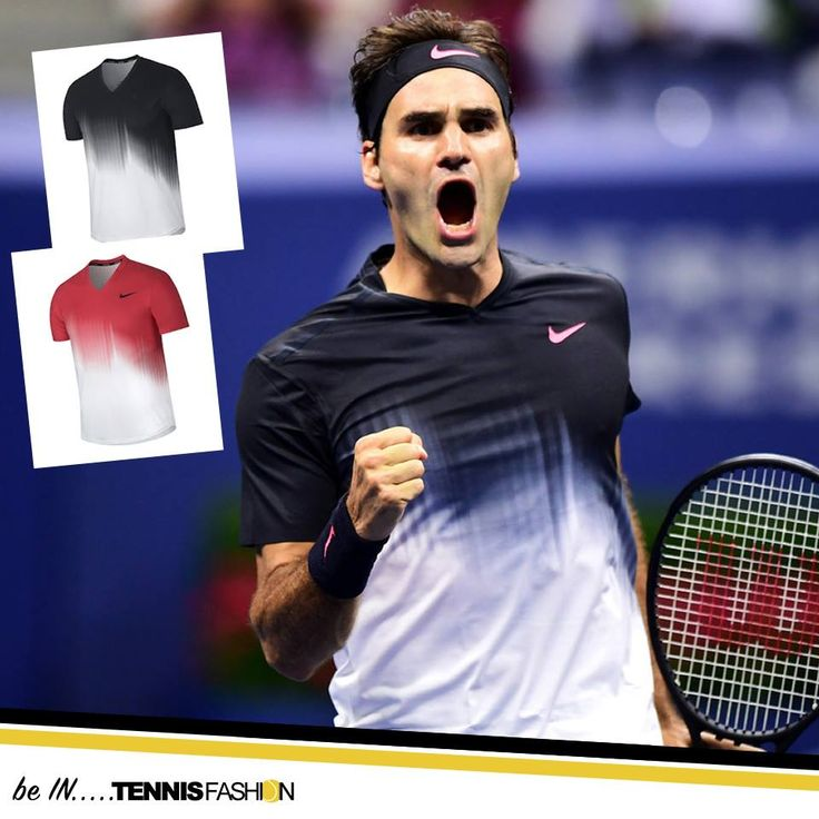 Nike RF Men's T-Shirt - US Open 2017 #rogerfederer #roger #federer #tennisfashion #nike