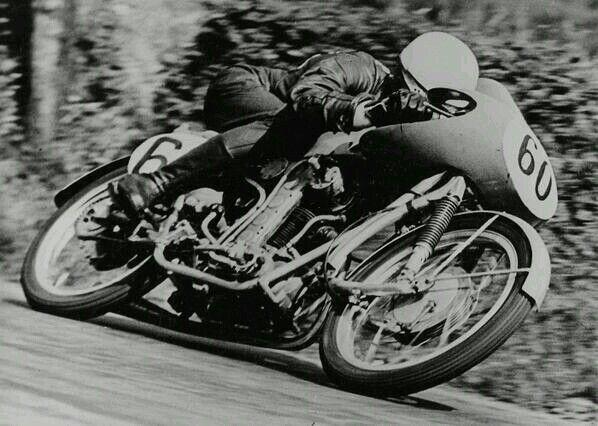 Leslie Graham the first 500cc world champion