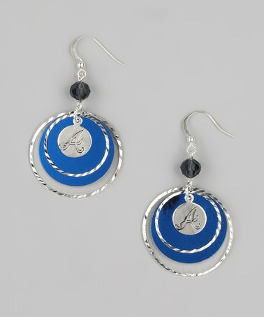 Take a look at this Atlanta Braves Game-Day Earrings by LogoArt on #zulily today!