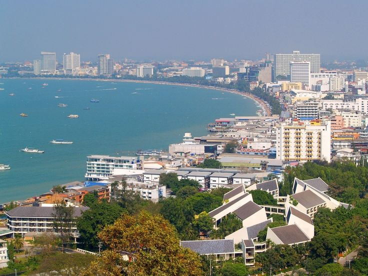 """Pattaya - is a city in #Thailand, located on the east coast of the Gulf of Thailand. Pattaya is known mostly for its clean and beautiful beaches, and advanced erotic """"industry"""". In Pattaya, you can dive into the lively nightlife with an excellent selection of restaurants, night clubs, discos, bars and cabarets. Suffice it developed activities: trips to the coral islands, walks on ancient Chinese junks, sea scooters, as well as diving in the company of tropical fish."""
