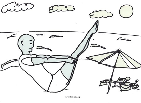 May 2013 Full moon yoga free printable coloring pages ...