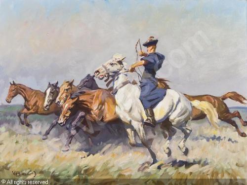 VISKI János (Jean - Horses