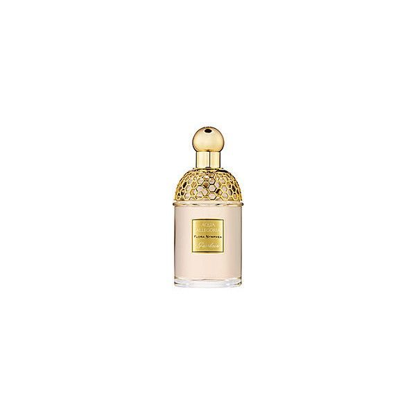 Guerlain Aqua Allegoria Flora Nymphea ($59) ❤ liked on Polyvore featuring beauty products, fragrance, perfume, beauty, makeup, women's fragrance, guerlain perfume, blossom perfume, flower fragrance and guerlain