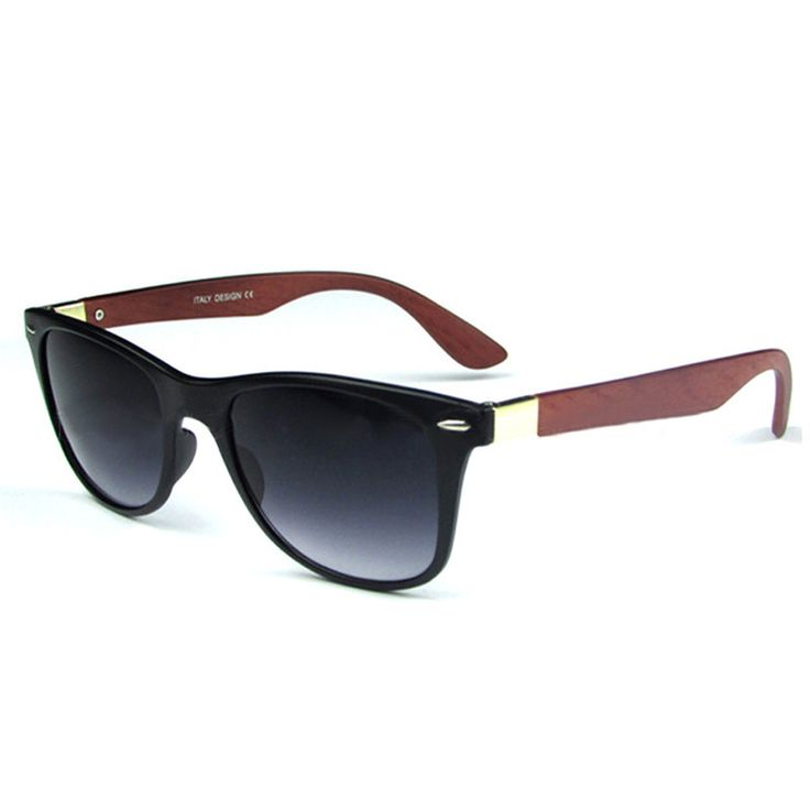 Men's Bamboo Sunglasses (Red Wood) - Elevation District
