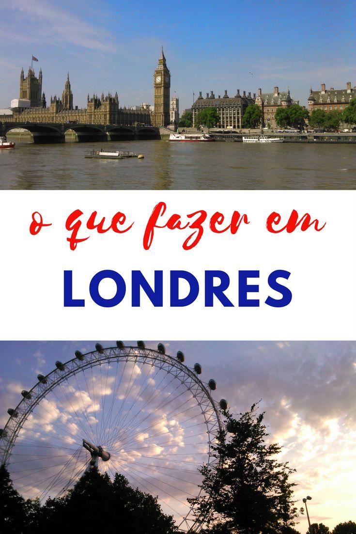 Londres tem diversos pontos turísticos incríveis, mas é uma cidade cara. Portanto, saiba como se programar para conhecer os principais lugares