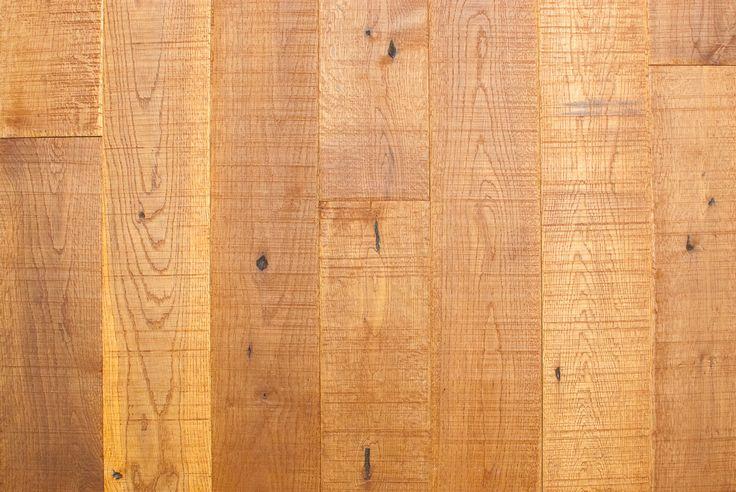 RUSTIC Country Stain - Solid White Oak Floating Hardwood Floor, Easyclip easy clip - Easiklip Canada
