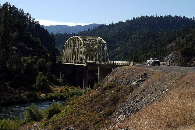 Bridge over the Rogue River