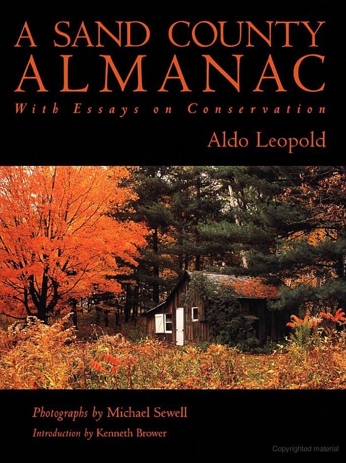 A sand county almanac questions