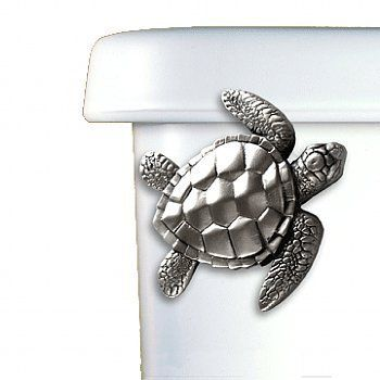 Amazon.com: Sea Turtle Toilet Flush Handle...oh yes!! my bathroom is going to be covered in turtles!