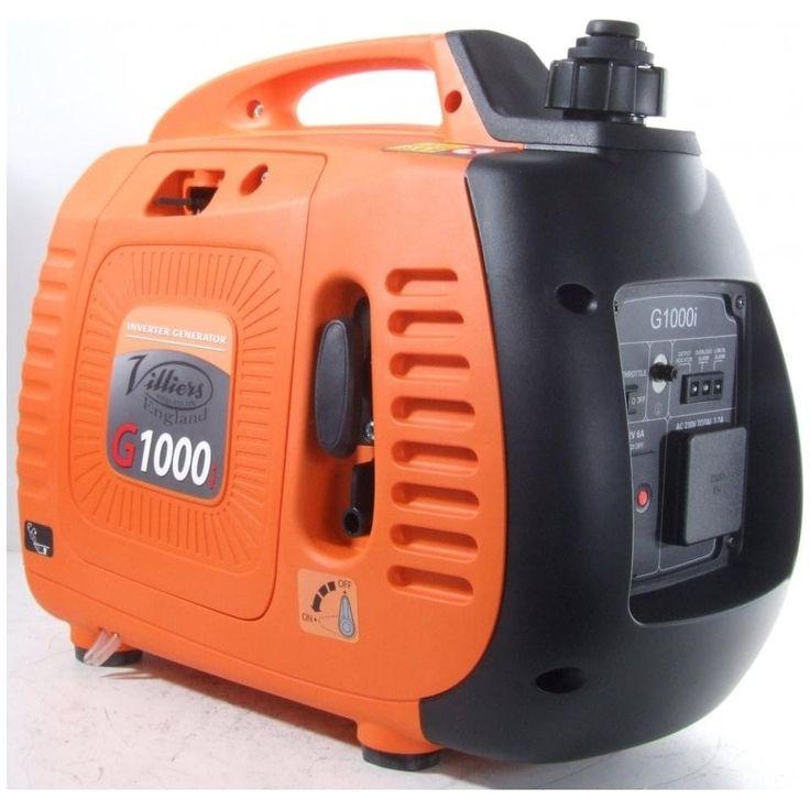 Villiers G1000i Inverter Petrol Generator - Invertor Generators from pump.co.uk - W.Robinson & Sons (Ec) Ltd UK