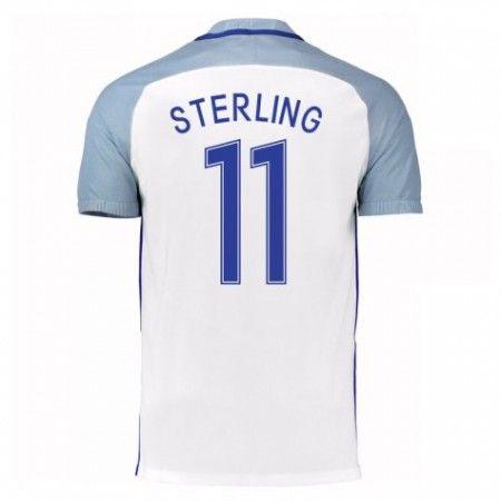England 2016 Raheem Sterling 11 Hjemmedrakt Kortermet.  http://www.fotballpanett.com/england-2016-raheem-sterling-11-hjemmedrakt-kortermet-1.  #fotballdrakter