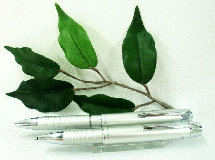 Parker Esprit Duo Ballpoint Pen & PDA Stylus Telescopic Matt Chrome + Free Refill