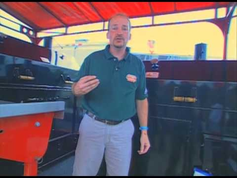 World champion pitmaster Chris Lilly  shows how to achieve the best tasting meats on his charcoal grill. He tops his charcoal with hickory chips for added flavor and 16 hours of cooking without refueling. || Memphis in May BBQ Grilling Championships- Grilling Secrets