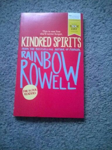 Kindred spirits by Rainbow Rowell for world book day 2016