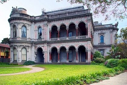 Lavish Victorian - Melbourne, Australia - Labassa is a fine example of ornate decoration.