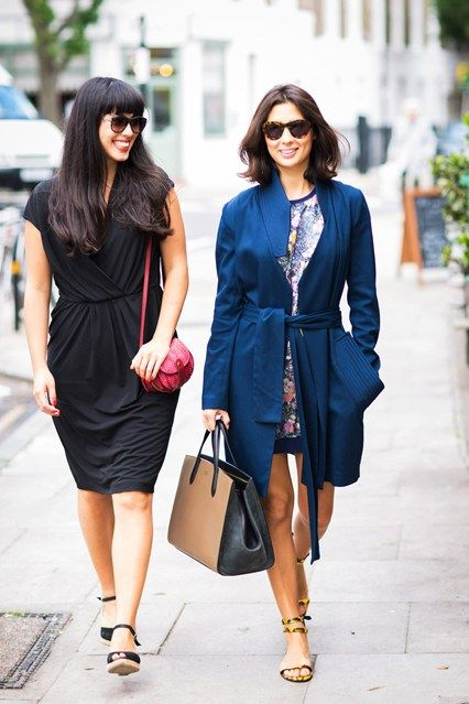 Melissa and Jasmine Hemsley - Today I'm Wearing blog