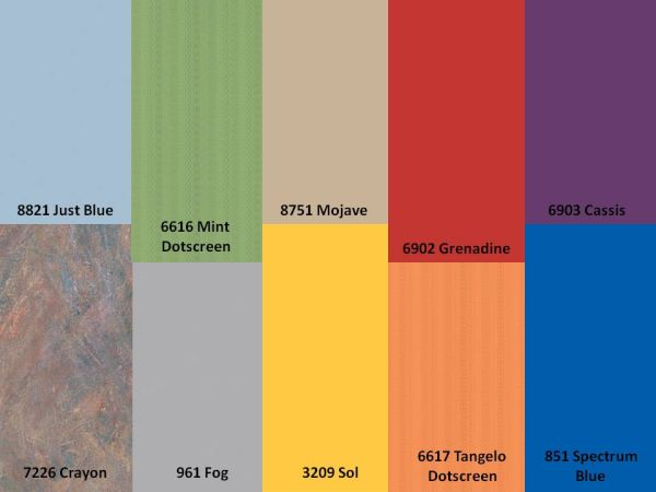 formica colors chart