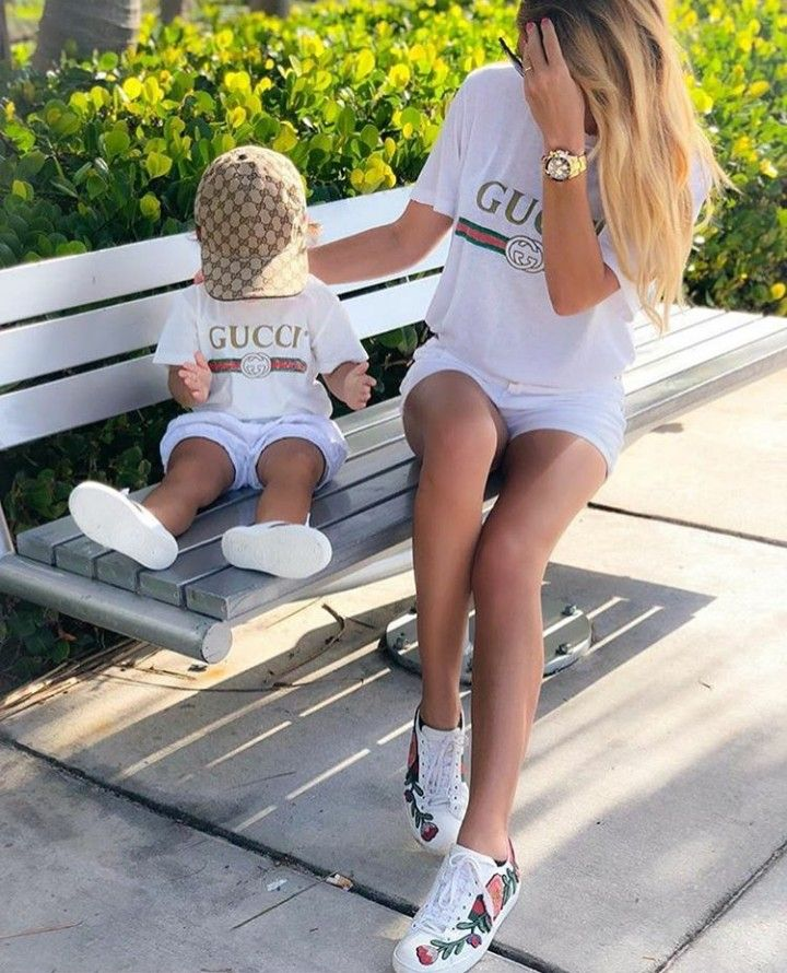 f2fe49b83efd Mommy and I have Gucci tees.