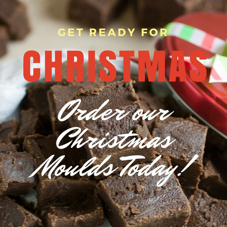 You've just got enough time to get your Christmas moulds before it's too late. Make sure you order today!