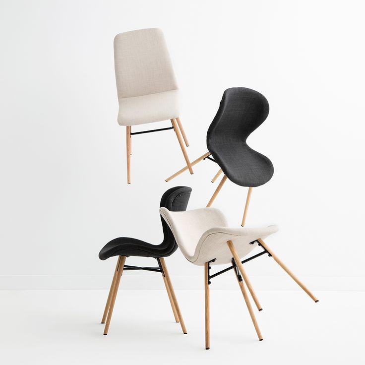 BATILDA & AMANDA contemporary chairs #interiorstyle #interiorspace #diningroom