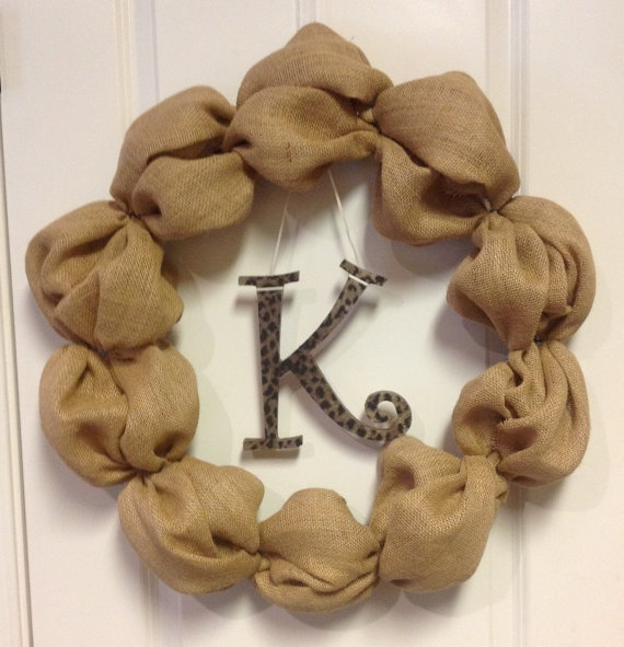 Burlap Wreath with initial by lace554, $50.00Ali Receptions, Crafts Ideas, Diy Things, Things To, Crafts Stuff, Creative Things, Nurseries Ideas, Burlap Wreaths With Initials, Crafty Ideas