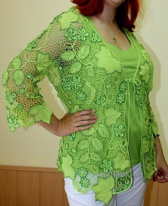 Irish crochet-modelos