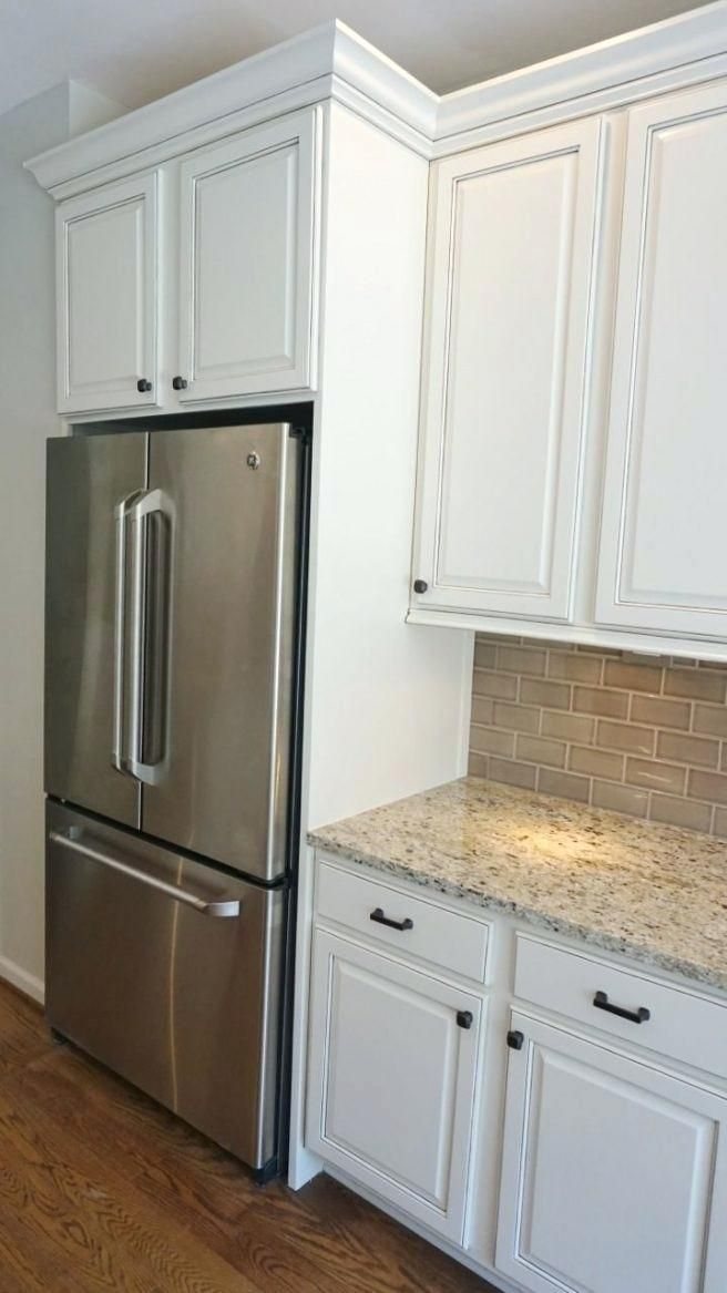 Cabinet End Panel Ideas Above Refrigerator Cabinet Sweet ...