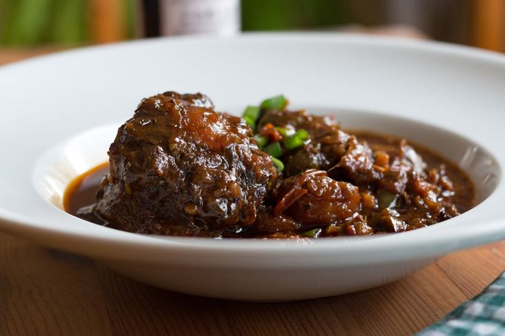 Slow-cooked Jamaican Oxtails