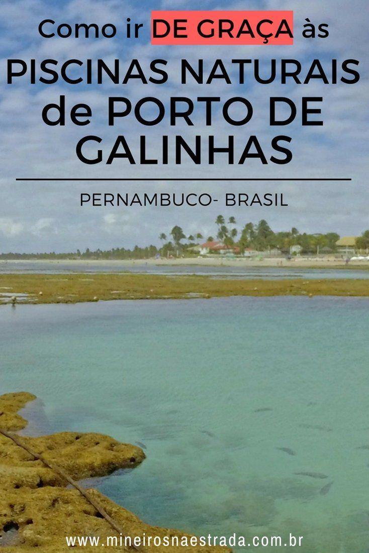 O meio mais famoso de se chegar às piscinas naturais de Porto de Galinhas é por jangadas, mas também é possível ir a pé e de graça. #mineirosnaestrada #pernambuco #praias #portodegalinhas #viagem