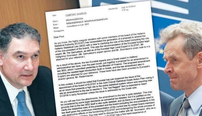 ΑΠΟΚΑΛΥΨΗ: Έτσι μεθόδευσαν την καταστροφή της Ελλάδας. Η επιστολή Γεωργίου πρός Πόουλ Τόμσεν που συνιστά έσχατη προδοσία.