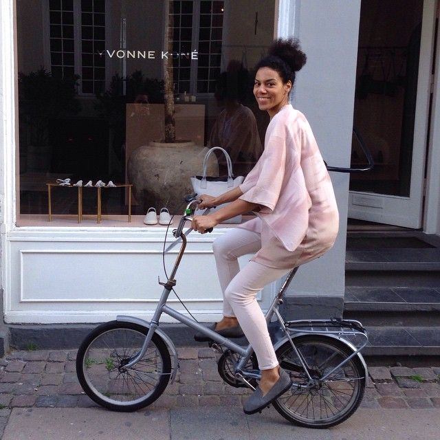 Colour matching my clothes, shoes and bike with my store today