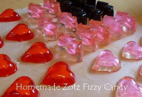 Homemade Zotz Fizzy Candy | Making Memories with your Kids