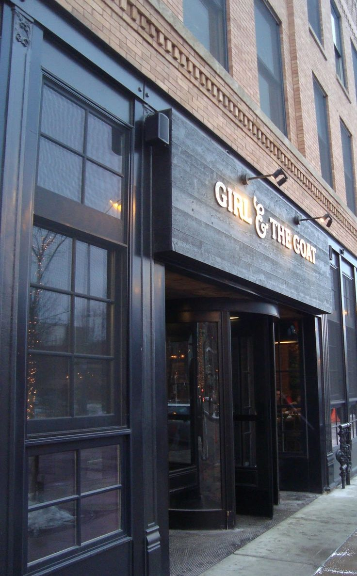 I've been recommended this restaurant - it's probably pretty expensive but it might be fun to go see :) Girl & the Goat; Top Chef winner, Stephanie Izard's restaurant.