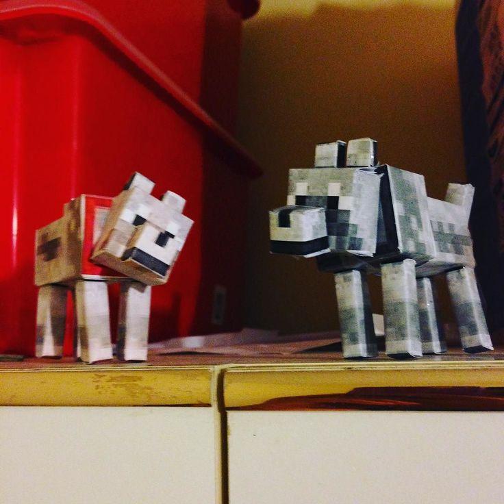 Something we liked from Instagram! My new minecraft wolfs because I crushed my old one... #minecraft #wolf #drawing #myfingershurtnow #downloadingwindows10 #everything #wiki #wikipedia #idontcareanymore #bye #yay #bruh #everything #cod #codav #art #painting #noob #imsuchanoob #3d #papercraft #3dprinter #model #game  #everything #creepy #crispy #hashtag #lol #whydoiusesomanyhashtags @mothiur_rahman #noprinter by rohithmiah check us out: http://bit.ly/1KyLetq