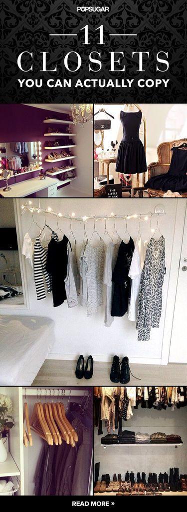Creative closet inspiration that will make your closet go next level