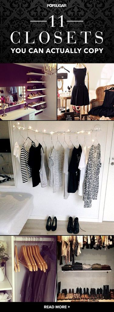 Creative closet inspiration that will make your closet go next level