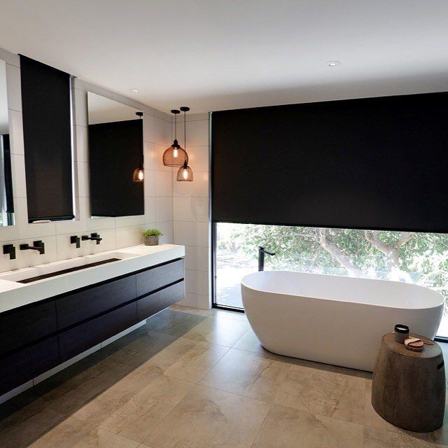 Congratulations to the team at @truformconstruction who were announced winners of the 2016 Master Builders Excellence in Housing Awards.⠀ Their amazing transformation of a two-bedroom Port Melbourne property into a stunning modern three-bedroom home with an additional living area and third floor viewing area, was completely decked out with Meir tapware and accessories. Visit www.truformconstruction.com.au to view more of their incredible projects. ⠀ ⠀ meiraustralia#Meir #Meirblack…