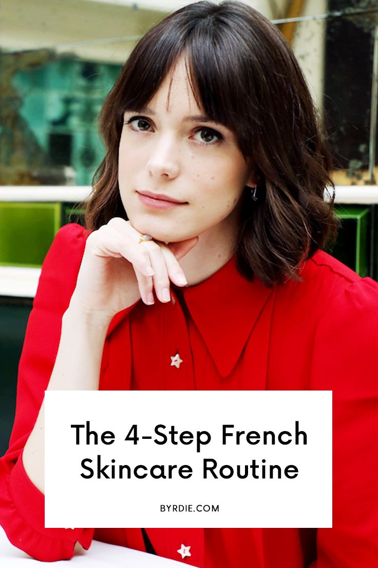 An easy French skincare routine