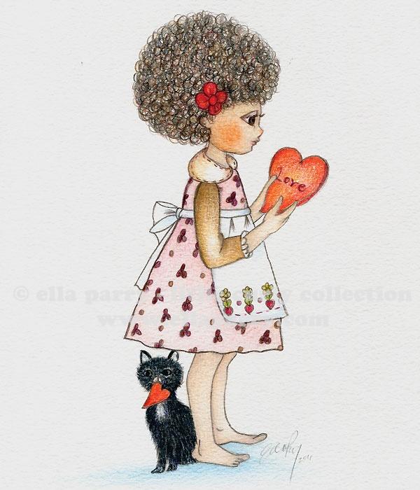 Copy Cat ©  ellaparry - little curly collection