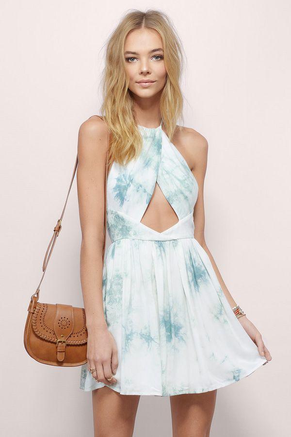 Calimesa Skater Dress    Find more Skater Dresses at www.tobi.com   #SHOPTobi   #L8rSk8r