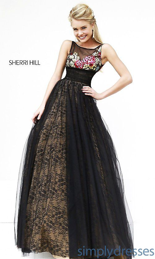 Long Lace High Neck Ball Gown | Style Me Pretty! | Pinterest | Ball ...