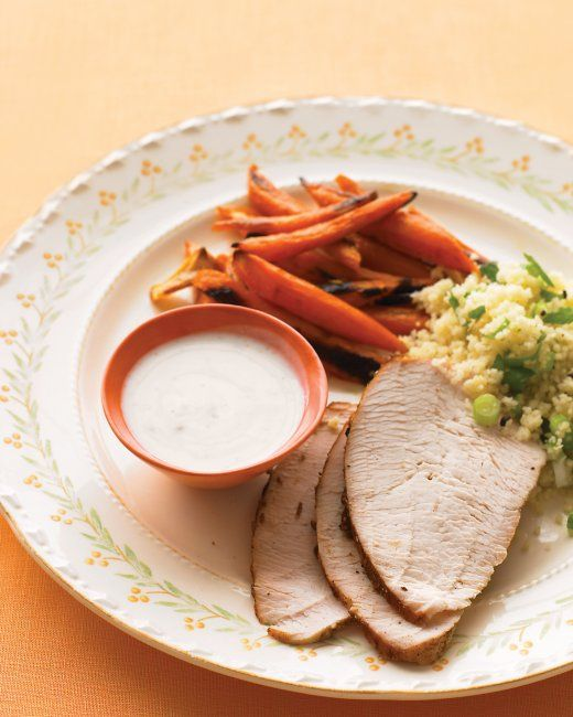 ... SUNDAY SUPPER RECIPES: Spice-Rubbed Turkey Breast with Roasted Carrots