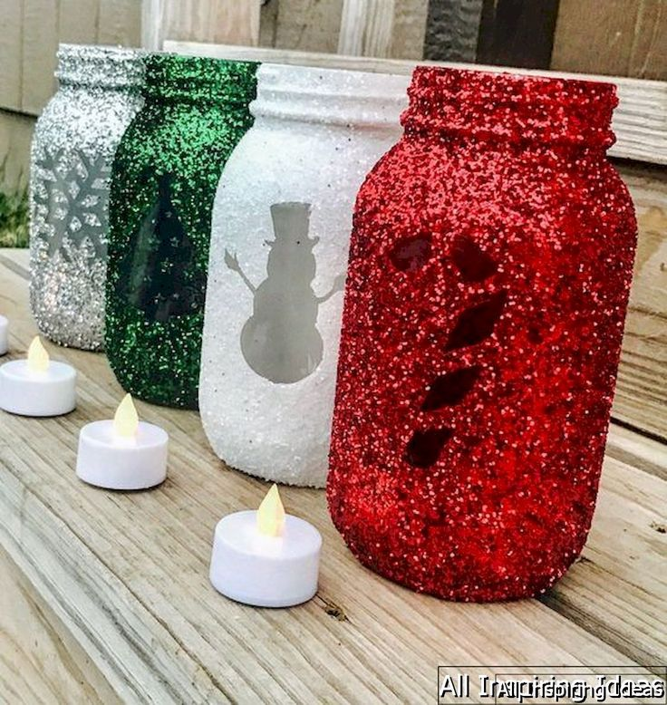 Christmas Craft Ideas Mason Jars Part - 45: 24 Fun And Easy Christmas Craft Ideas For Kids
