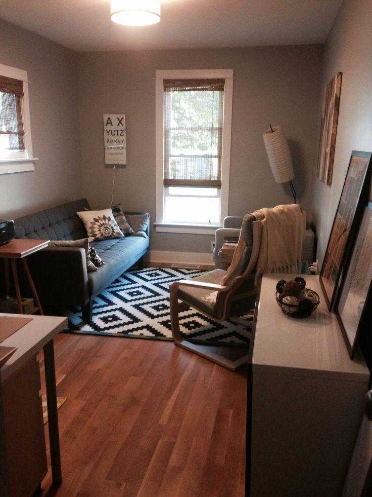 den office ideas. cozy new den in shades of gray office denden ideas i