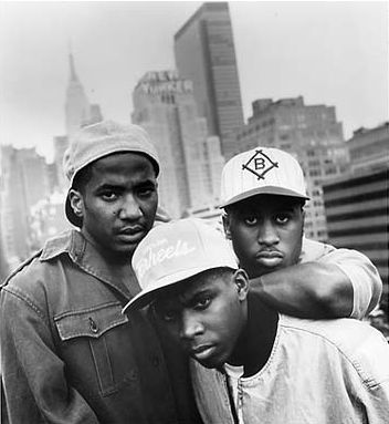 American Hip-Hop group A Tribe Called Quest. http://www.dazeddigital.com/music/article/16710/1/wildest-samples-from-93s-rap-battlefront