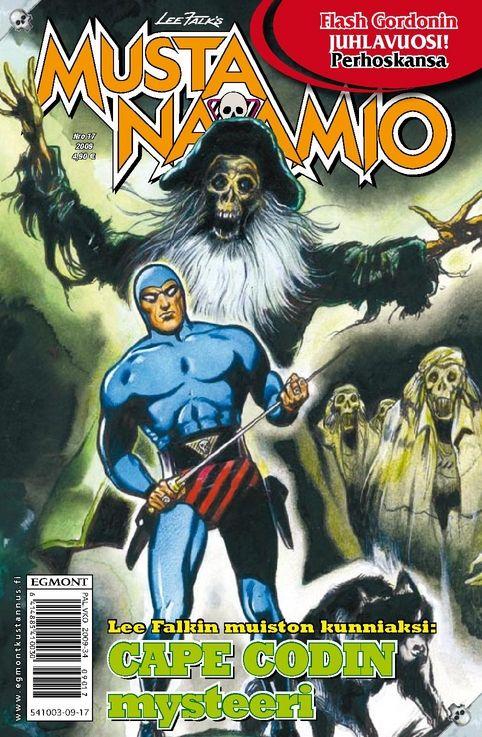Mustanaamio-lehti nro 17/2009. #sarjakuvalehti #sarjakuva #sarjis #egmont #mustanaamio