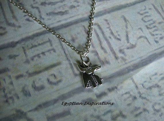 Egyptian Anubis necklace. Egyptian by EgyptianInspirations on Etsy, $14.99