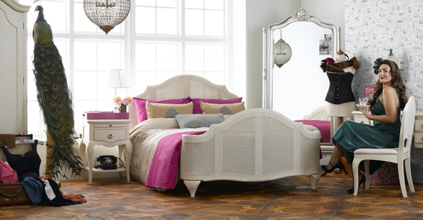 Annabel by Frank Hudson - the sexiest bed at The Great British Home Show